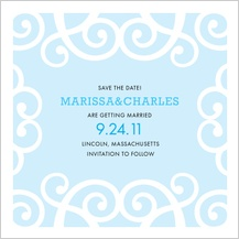 Save the Date Card - chanson