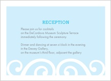 Reception Card - chanson