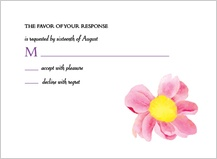 Response Card - bright daisies