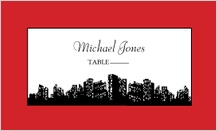 Place Card - urban chic