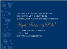 Reception Card - magical