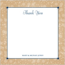 Wedding Thank You Card - magical