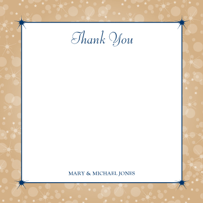 Wedding Thank You Card - Magical