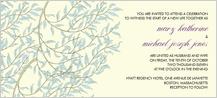 Wedding Invitation - willow