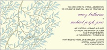 Wedding Invitation - willow