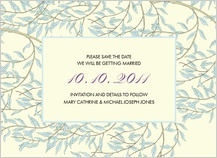 Save the Date Card - willow