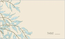 Place Card - willow