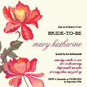Wedding Shower Invitation