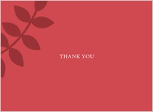 Wedding Thank You Card - vine is fine