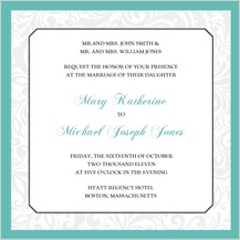 Wedding Invitation - soft and elegant