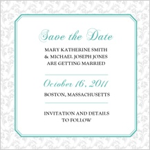 Save the Date Card - soft and elegant