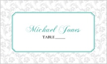 Place Card - soft and elegant