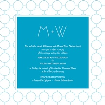Wedding Invitation - simple chic