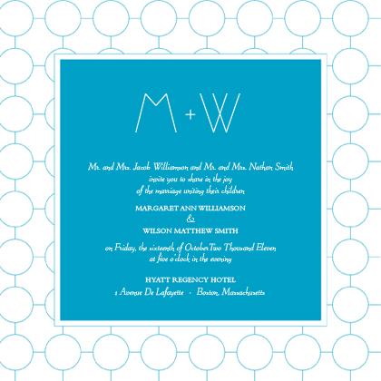 Wedding Invitation - SIMPLE CHIC