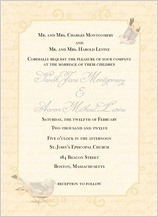Wedding Invitation - brocade