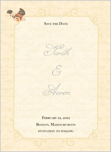 Save the Date Card - brocade