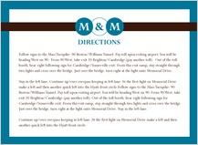 Direction - monogram circles