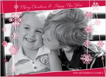 Christmas Cards - snow beads