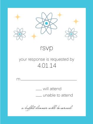 Response Card - Cosmic Starburst