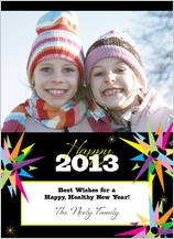 New Year's Cards - new years burst