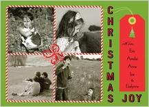 Christmas Cards - holiday gift box