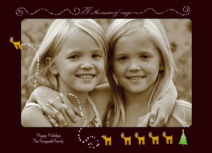 Christmas Cards - magic