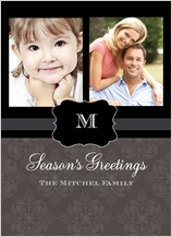 Christmas Cards - classy season's greetings
