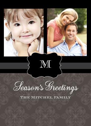 Christmas Cards - Classy Season's Greetings