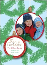 Christmas Cards - pine needles