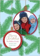 Christmas Cards - pine needles