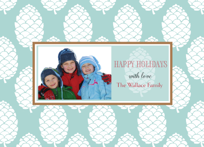 Christmas Cards - Pine Cone Time