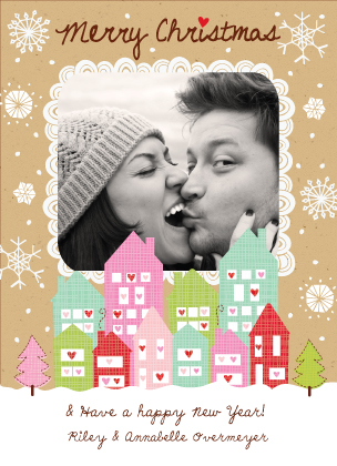 Christmas Cards - Home is where the heart is...