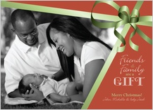Christmas Cards - gift of family & friends