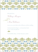Wedding Invitation - vintage love