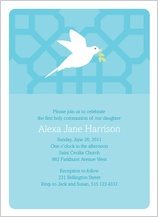 First Communion Invitation - flight