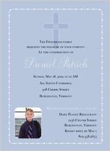 Confirmation Invitation - confirmation announcement