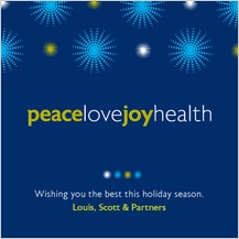 Christmas Cards - peace love joy health