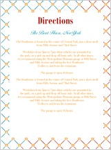 Direction - motif blend
