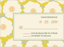 Response Card - gentle flower