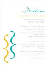 Direction - wedding dialouge