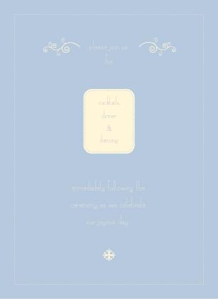 Reception Card - lyrical phlox