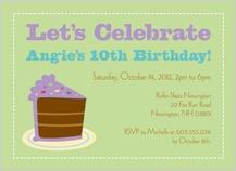 Birthday Party Invitation - birthday wishes