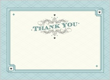 Wedding Thank You Card - lucky in love