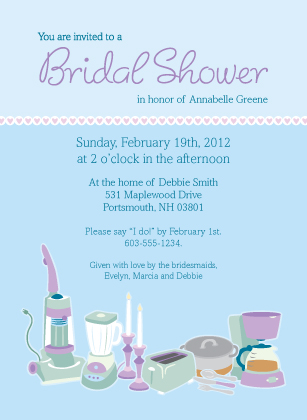 Wedding Shower Invitation - Getting Hitched