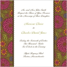Wedding Invitation - garden party