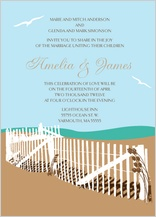 Wedding Invitation - east coast wedding