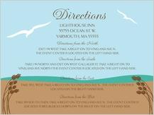 Direction - east coast wedding