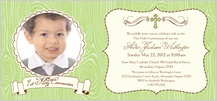 First Communion Invitation - modern beau 1st holy communion
