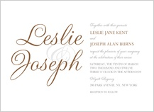 Wedding Invitation - simplicity
