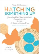 Baby Shower Invitation - nest egg